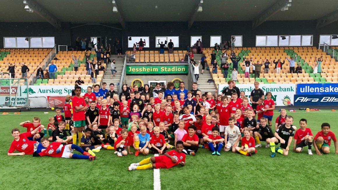 Tine Fotballskole fra 23-25. juni